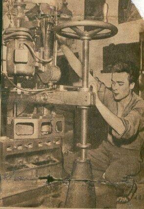 Édesapám Nagy László munka közben